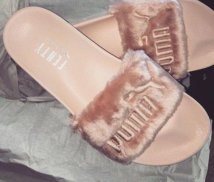 "JLUXLABEL aka JAIDECLOTHING on Instagram: ""#Rihanna x Fenty Puma Pool Sliders S/S16 @badgalriri"""