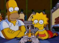 """""""Lost Our Lisa"""" Lisa tricks Homer into letting her ride the bus only to get lost in Springfield."""