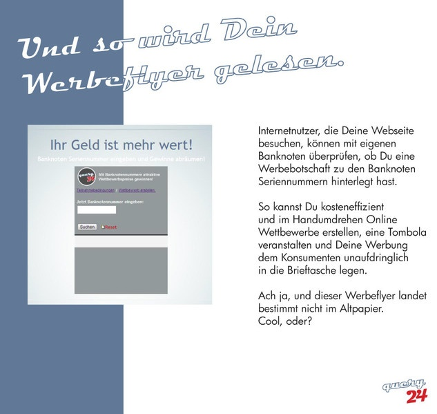 Gewinncode Abfrage auf der eigenen Webseite bringt mehr Besucher und neue Kundschaft!