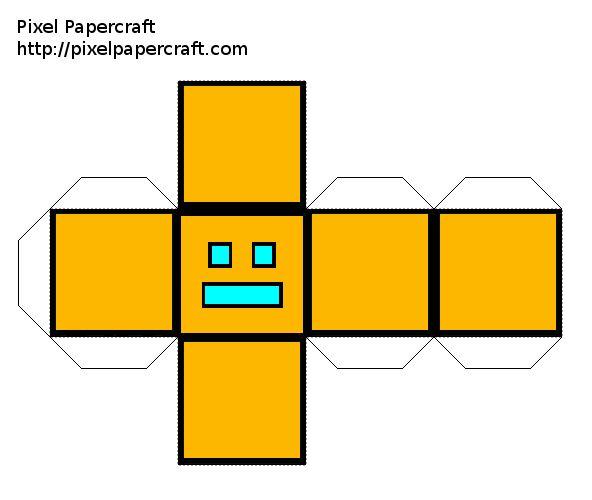 geometry dash:cube - Google Search | Hair | Pinterest