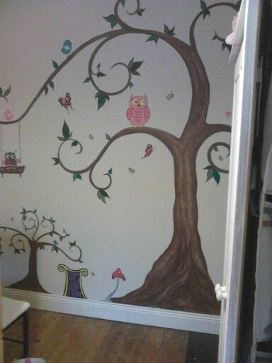 Aoifes room new mural