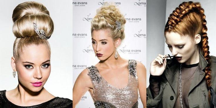 Glamorous Formal Hairstyles by Lorna Evans, Australia!
