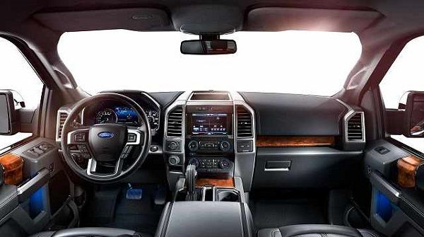 2017 Ford Bronco SVT Raptor Interior                                                                                                                                                                                 More