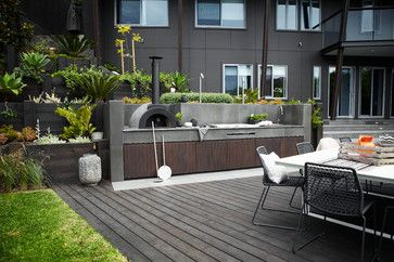 Mosman - contemporary - Deck - Sydney - Harrison's Landscaping