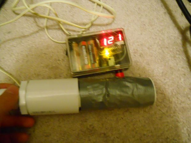 NERF Dart Gun Speedometer