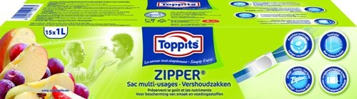 Toppits Zipper/ Quicktop/ 2in1 foil/ Baking Alufoil - Local launches supported by ATL and BTL communication & PR.
