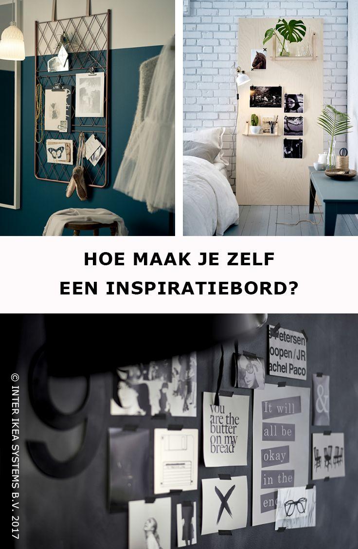 Wil je je herinneringen, ideeën en dromen in de kijker zetten? een oude deur of een klimplantenrek, ontdek hoe je een inspiratiebord kunt maken met je favoriete spullen. HEKTAR Staande lamp, 49,99/st. #IKEABE #IKEAidee, 248,80/st. #IKEABE #IKEAidee  Do you want to put your memories, ideas and dreams on display? An old door or a plant stand, discover how to make an inspiration board with your favorite items. HEKTAR Floor lamp, 49.99/pce. #IKEABE #IKEAidea