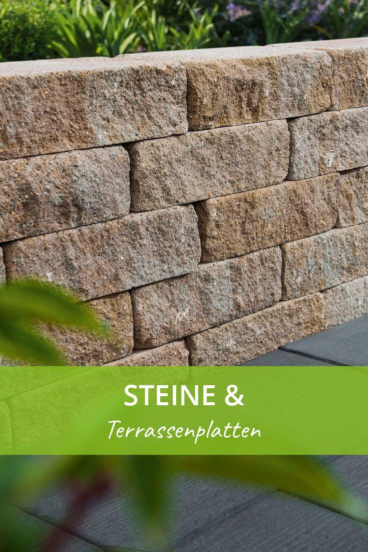 Schone Steine Terrassenplatten Fur Den Garten Terrassenplatten Gartengestaltung Betonpflaster