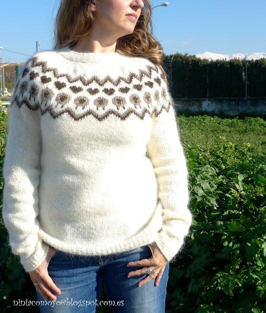 Iceland knit sweater from niña como yo: ÆR (...Sauði...)