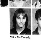 MIKE McCREADY  1983 Roosevelt High School Yearbook  Seattle, WA  PEARL JAM