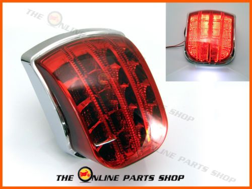 High Quality Vespa Px 125 150 200 Chrome LED Tail Light - DIRECT REPLACEMENT | eBay