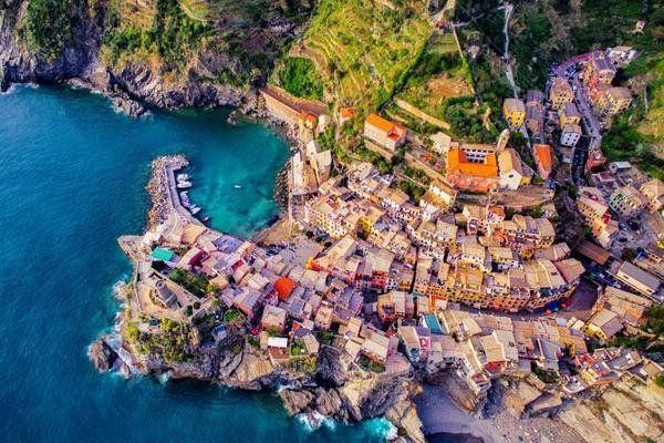 雅虎科技新聞: 2016最佳無人機攝影作品 - Yahoo奇摩新聞 - 義大利韋爾納扎五漁村