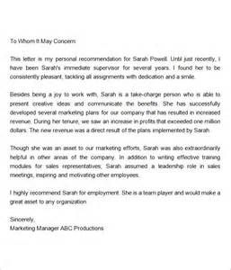 Recommendation Letter For Regularization Of Employee Raj
