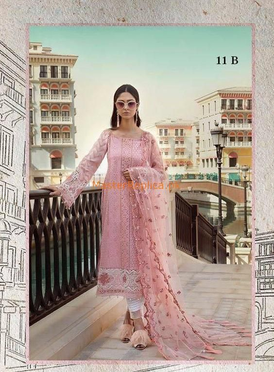 78fbfb4eda93 Check Out Maria B. Luxury Embroidered Lawn Collection Replica 2018 at  Master Replica Pakistan Call/WhatsApp: +923322622227 #pakiclothing ...