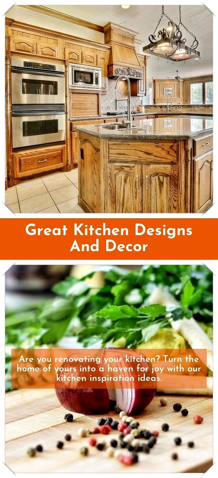 Design Your Own Kitchen: Easy Kitchen Decor And Design Ideas: All Set To Get