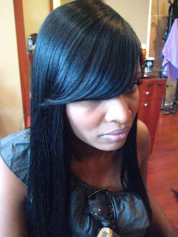 Invisible Part Weave - Sabrina The Hairstylist