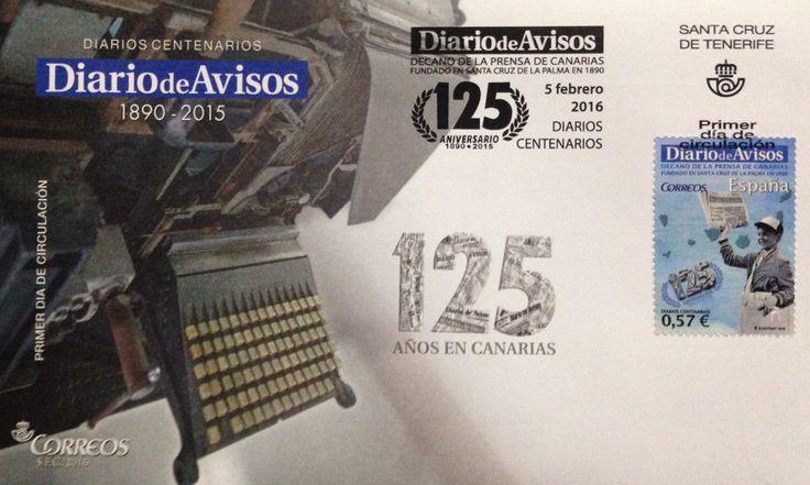 125 Aniversario del DIARIO DE AVISOS, fundado en La Palma.
