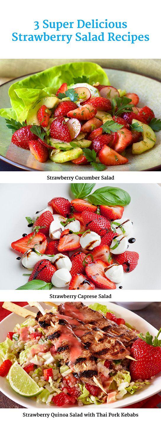 3 Super Delicious Strawberry Recipes #sp