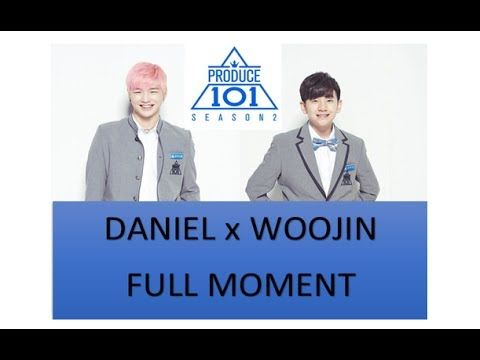 KANG DANIEL X LEE WOOJIN ( FULL MOMENT ) | #PRODUCE101 season2