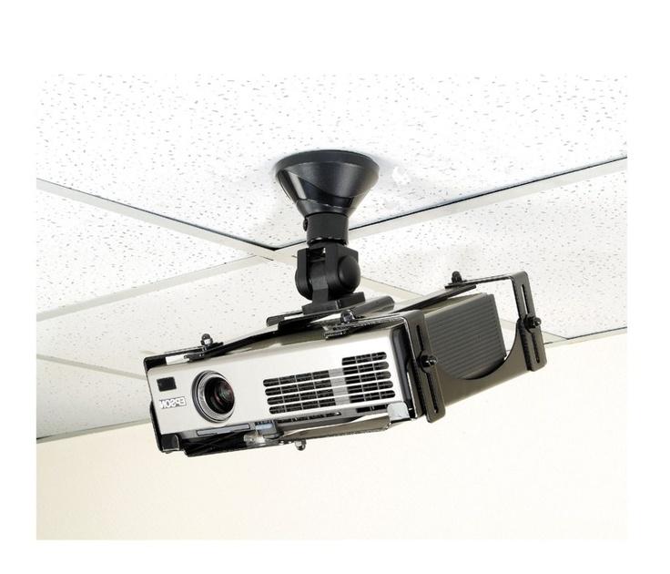 NewStar BEAMER-300 maakt het mogelijk dat u uw beamer/projector eenvoudig aan het plafond monteert. De steun is universeel en past daarom op alle beamers/projectoren met een schroefgaten patroon. Het instellen van een beamer of projector is zeer eenvoudig door de kantel-, draai- en rotatie functie van deze steun.