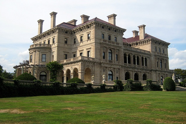 The Breakers 13-acre summer home of Cornelius Vanderbilt ll- constructed between 1893 - 1895 at a cost of over $7million dollars.