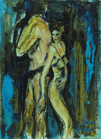 "Mina Papatheodorou Valyraki: ""The couple"",1998"