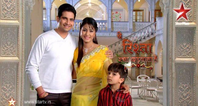 Ye Rishta Kya Kehlata HaiYe Rishta Kya Kehlata hai casts are Karan Mehta as Naitik Singhania, Hina Khan as Akshara Singhania, Shivansh Kotia as Naksh Singhania.