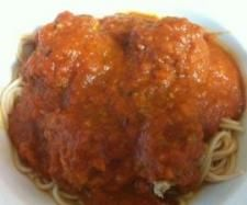 Recipe Meatballs and spaghetti by nessie - Recipe of category Pasta & rice dishes