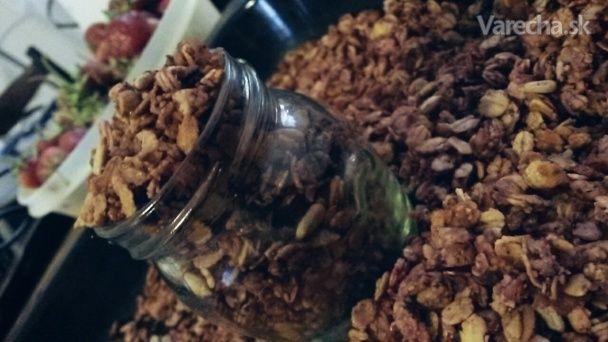 Jahodová granola