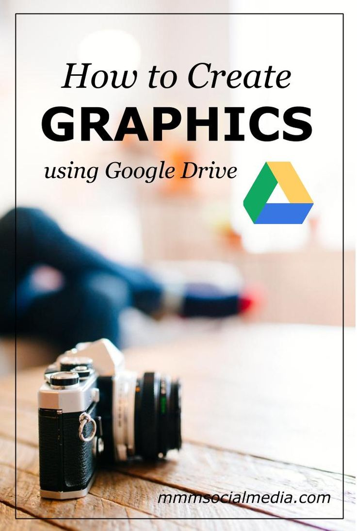 How to Create FREE Graphics for Your Business Using Google Drive.