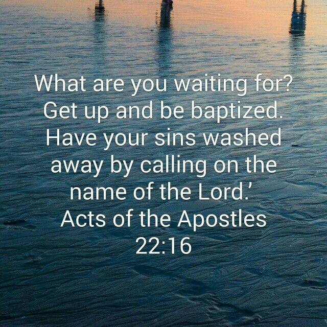 Acts 22:16
