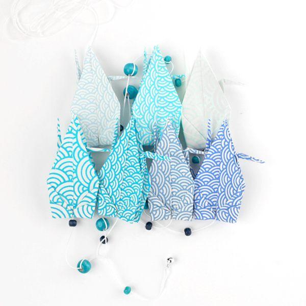 guirlande de grues en origami adeline klam origami pinterest origami et produits et. Black Bedroom Furniture Sets. Home Design Ideas