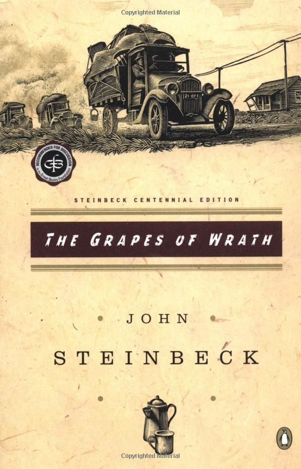 Amazon.com: The Grapes of Wrath (9780143039433): John Steinbeck, Robert DeMott: Books