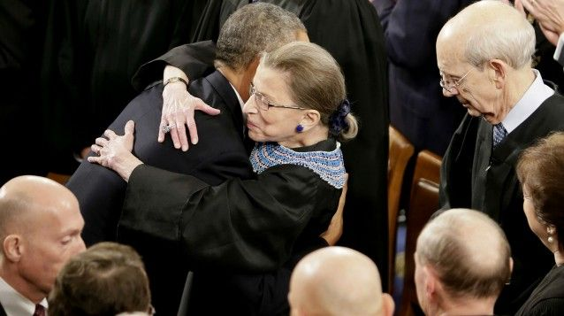 Justice Ginsburg: If I Resign, Obama Could Not Appoint 'Anyone I Would Like To See In The Court' | Is this sad or what. She knows, and hangs in there. My hero. RBG.