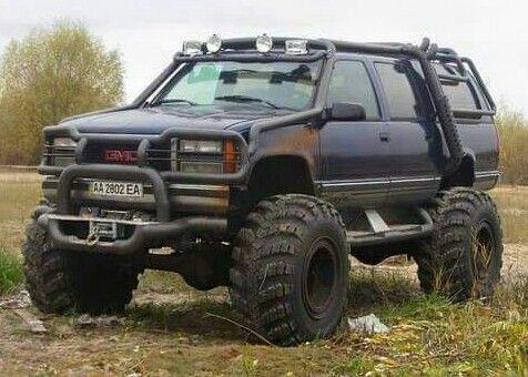 GMC Suburban Beast | trucks | Trucks, Chevy trucks ...