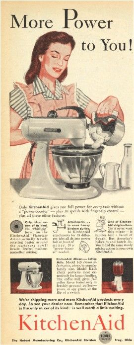 KitchenAid Ad from 1946.