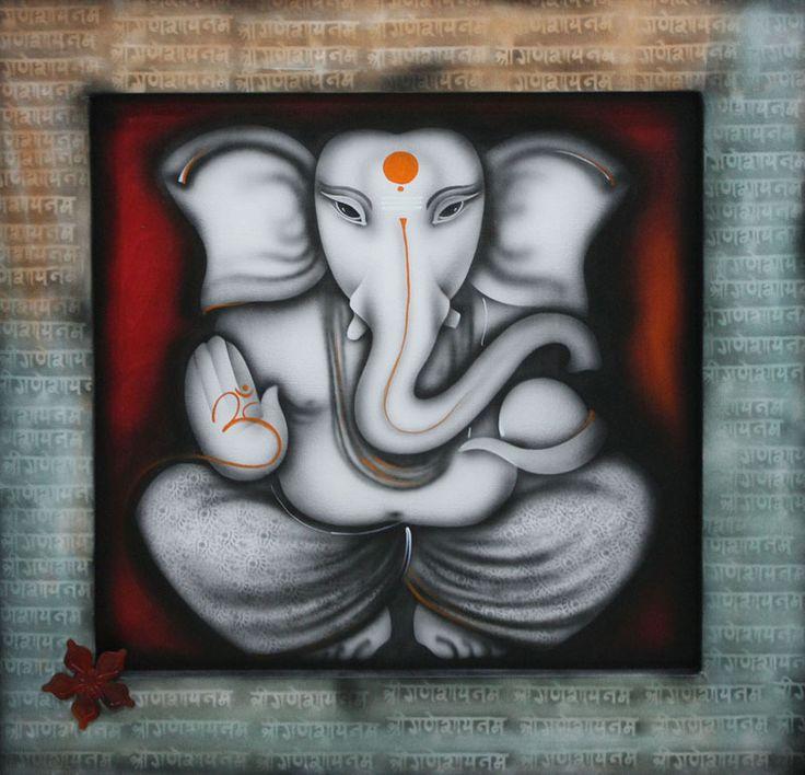 hindu god painting - Google Search
