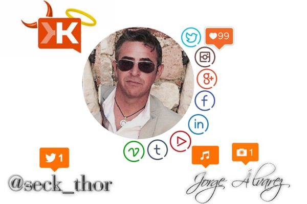 Social media Influencers- Jorge Álvarez - @seck_thor