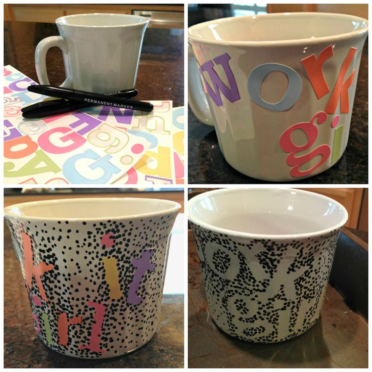 Best Mugs Images On Pinterest Sharpies Sharpie Mugs And