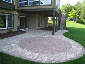 61 best paver patio ideas images on pinterest   backyard ideas ... - Patio Paver Ideas Landscaping
