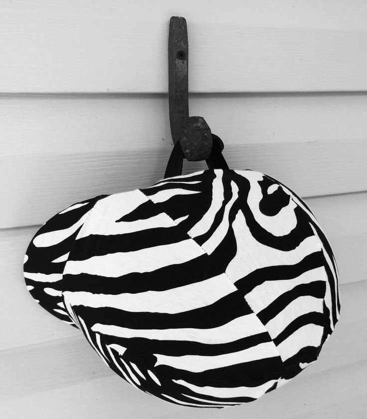 Zebra equine helmet cover ZEBRA HORSE TACK zebra accessory black and white tack Handmade by TheStitchingHorse on Etsy https://www.etsy.com/listing/199853851/zebra-equine-helmet-cover-zebra-horse