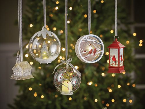 Christmas Ornaments & Figurines | LED Ornaments