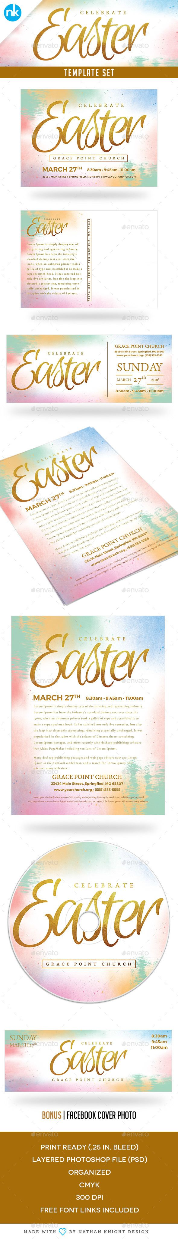 best images about church flyers party flyer easter sunday church template set celebrate