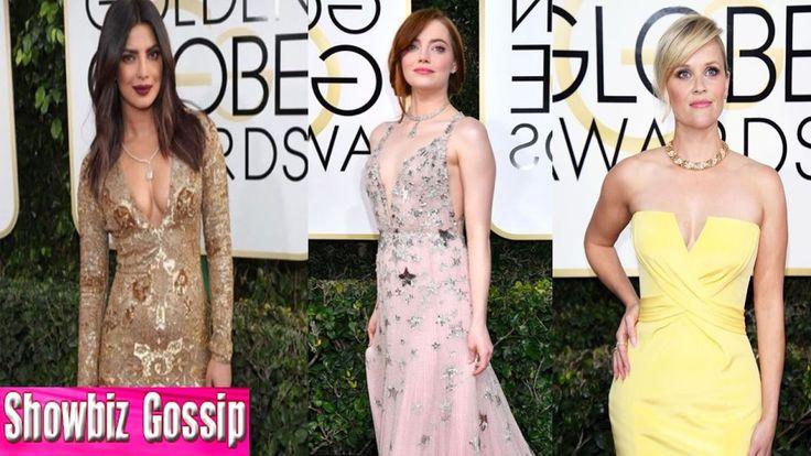 Golden Globes Awards 2017 : 10 Best Dressed Stars on Red Carpet
