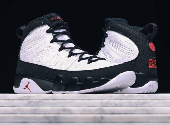 A Close Up Look Of The Air Jordan 9 Space Jam
