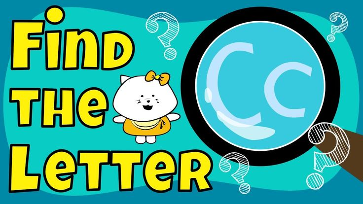 Alphabet Games | Find the Letter C