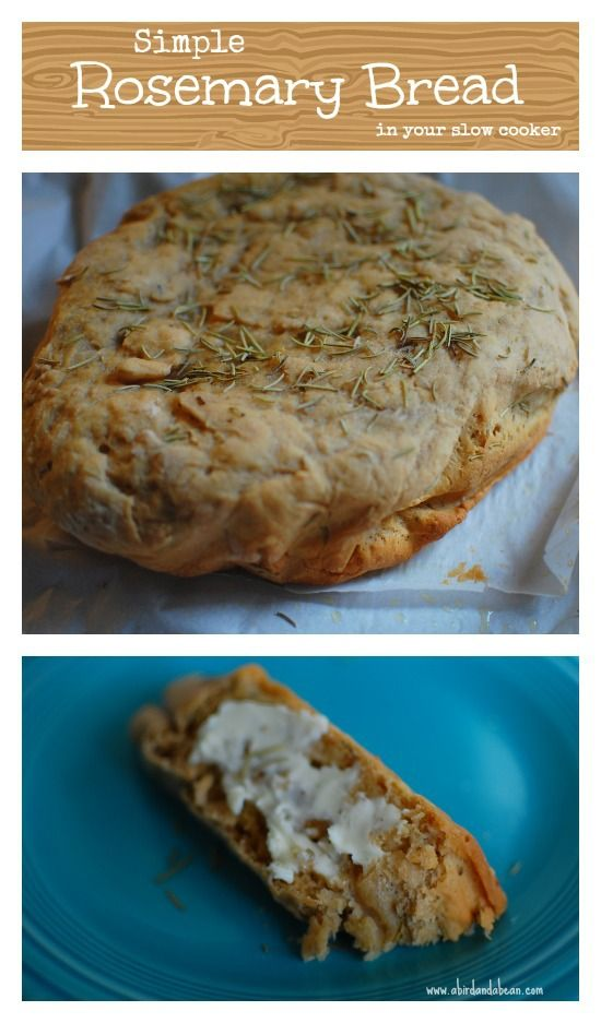 Rosemary bread, Breads and Crock pot on Pinterest