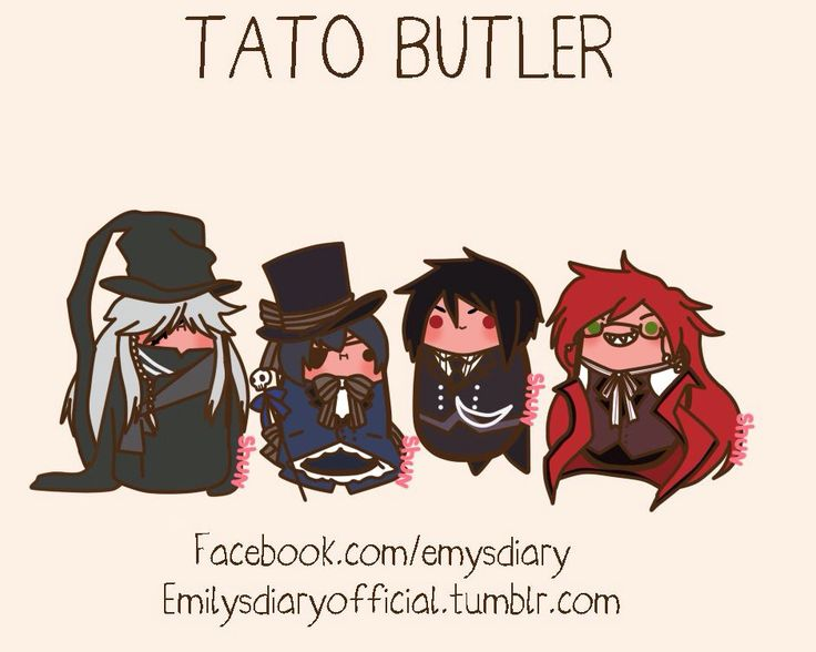 Black Butler featuring Kawaii Potato :3