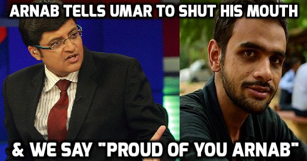 """You May Have Hated Him In The Past, This Time You Will Feel Proud Of """"ARNAB GOSWAMI"""""""