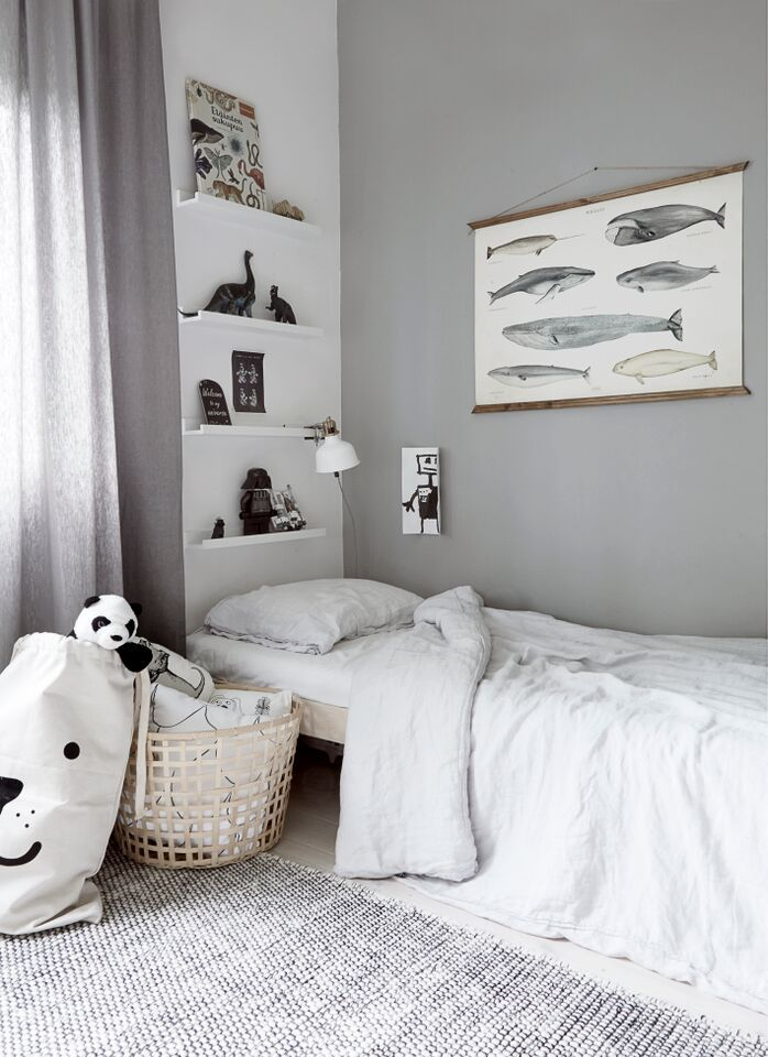 grey black and white childs bedroom photography and styling by riikka kantinkoski - Bedroom Photography Ideas